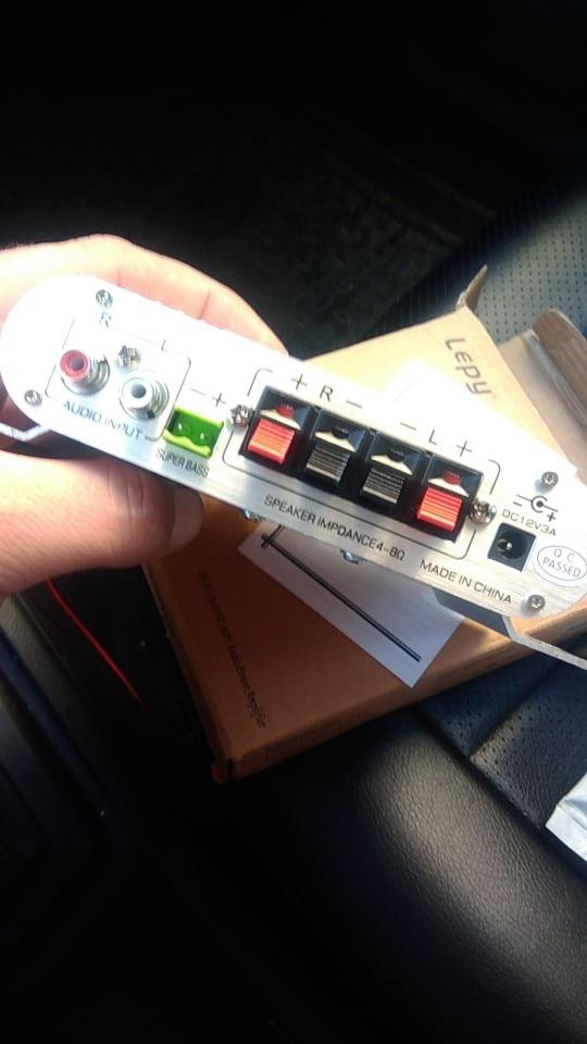 tda7293; автомобильный радиоприемник; автомобиль звуконепроницаемый;