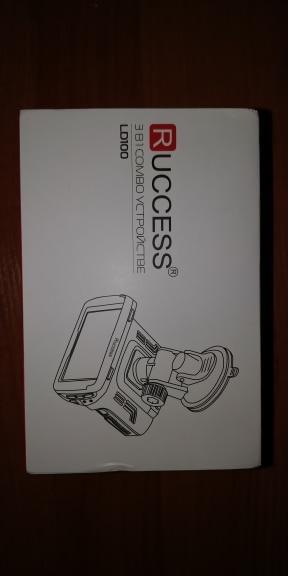 "RUCCESS 2.7"" Ambarella Car DVR 3 in 1 Radar Detector GPS Video Recorder Full HD 1080p Speed Camera for Car Recording Registrar"