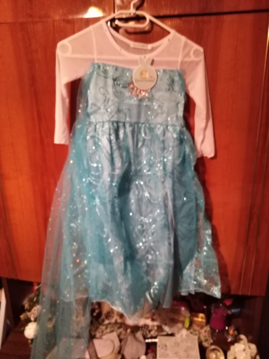 Baby Girls Dress Christmas Anna Elsa Cosplay Costume Summer Dresses Girl Princess Elsa Dress for Birthday Party Vestidos Menina