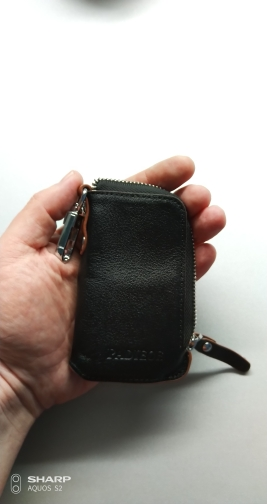 Padieoe 2019 Genuine Leather Fasion Men Key Bag High Quality Key Chain Organizer Housekeeper Hot Coin Purse Men's Key Holder photo review