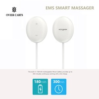 Koogeek Electrical EMS Muscle Stimulator Wireless Shoulder/Neck/Back Massager Pain Relieve For iOS Android Home Office Car Use