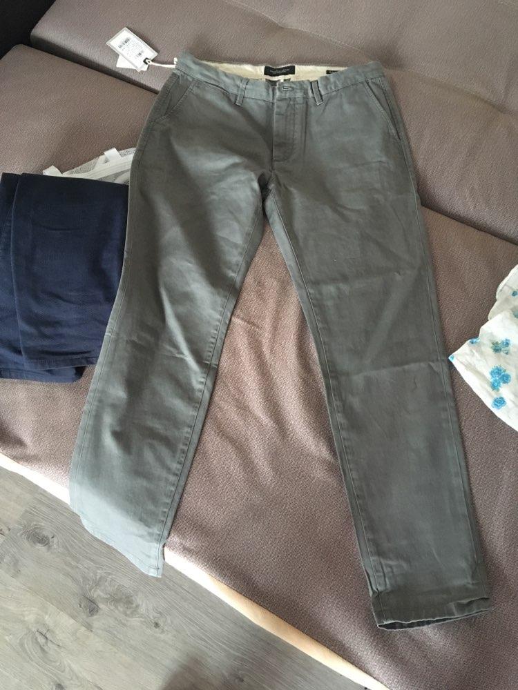 Simwood Brand Spring Winter New Fashion 2019 Slim Straight Men Casual Pants 100% Pure Cotton Man Trousers Plus Size  KX6033