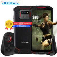 DOOGEE S70 4G LTE IP68 Smartphone 5.99 18:9 Android 8.1 Helio OCta Core 6+64G Waterproof Shockproof Game Mobile Phone 5500mAh