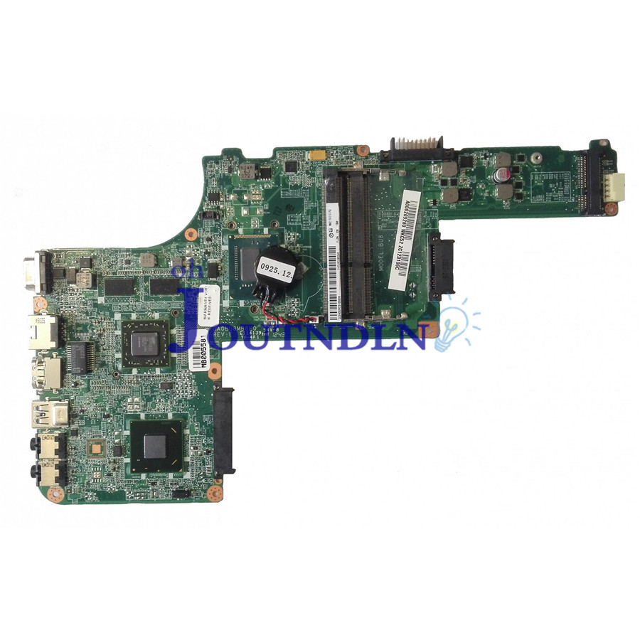 JOUTNDLN FOR TOSHIBA Satellite L830 laptop motherboard A000209280 DA0BU8MB8E0 REV.E W/ I5-3337U CPU DDR3 216-0833018 GPU SLJ8E