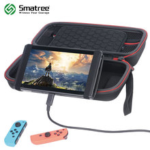 Smatree Protective Hard Case Carrying Bag/Stand for Nintend Switch,Nintendo Switch Console Cards