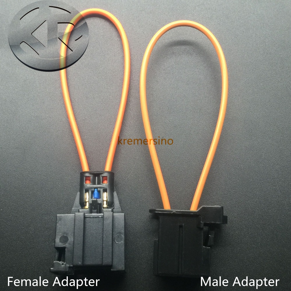 BMW Mercedes Audi MOST POF Fibre Optic Cable Connector Repair Joint