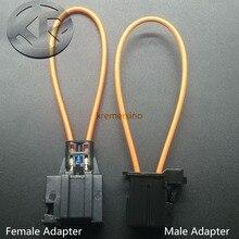 เส้นใยส่วนใหญ่Optical Optic Loop Bypassชาย & หญิงอะแดปเตอร์สายวินิจฉัยสำหรับAudi BMW Porsche Mercedes Benz 1 1355426 1