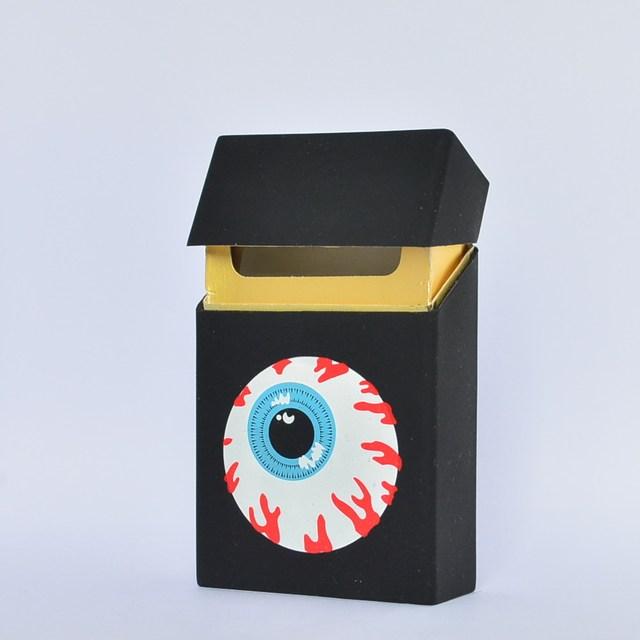 Holds 20 Cigarettes,Hello Kitty lovery Silicone cigarette case fashion cover elastic rubber portable women cigarette box sleeve