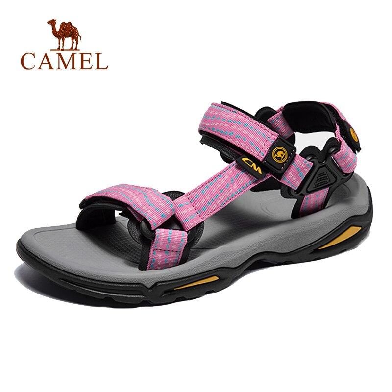 CAMEL Women Outdoor Beach Sandals Spring Summer Casual Anti-slip Fishing Sandals