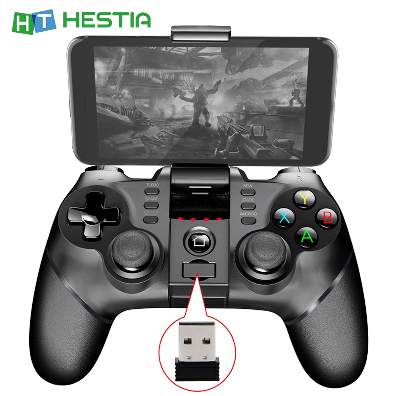 Bluetooth Wireless PUBG Game Controller Gamepad Joystick L1R1 Remote Control Gamepad For Android Mobile Phone PS3 PC TV Receiver