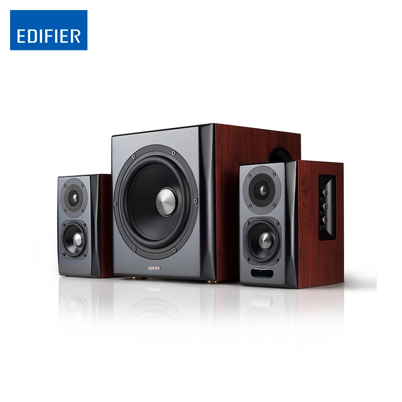 Edifier S350DB 2.1 Speaker System Bluetooth v4.1 aptX Wireless Sound ar sound bluetooth tall tower stereo speaker system with built in radio