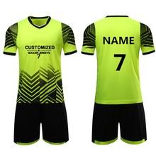 Детские футбольные комплекты Survetement, детские футбольные рубашки для подростков, спортивный комплект, тренировочный костюм «дышащая» Униформа с логотипом на заказ