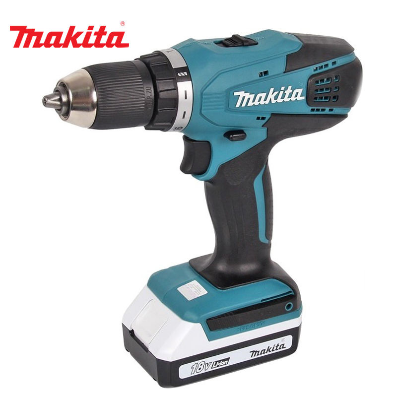 Cordless drill battery Makita DF457DWE us eu free tax electric bike battery 36v 15ah water bottle 18650 li ion battery 36v 500w e bike kettle battery with charger bms