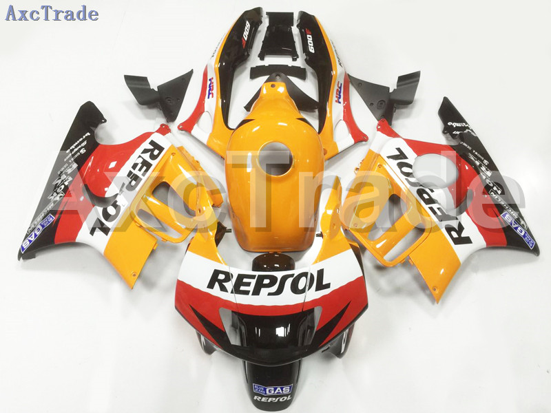 Motorcycle Fairings Kits For Honda CBR600RR CBR600 CBR 600 F3 1997 1998 97 98 ABS Plastic Injection Fairing Kit Bodywork Yellow motorcycle parts for honda cbr 600 f3 fairings 1997 1998 cbr600 f3 97 98 black silver seven star fairing kit d6