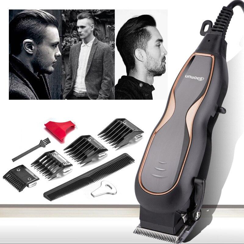 BaoRun Tondeuses Professionnelles Muet Ultra Électrique Tondeuse À Cheveux Salon De Coiffure Hommes Machine De Coupe De Cheveux avec Cordon 220 v