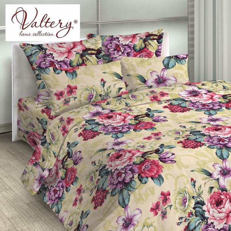 100% cotton satin softcotton flowers luxury bedding sets queen king size duvet cover bed sheet set bed set bed linen kit plaid
