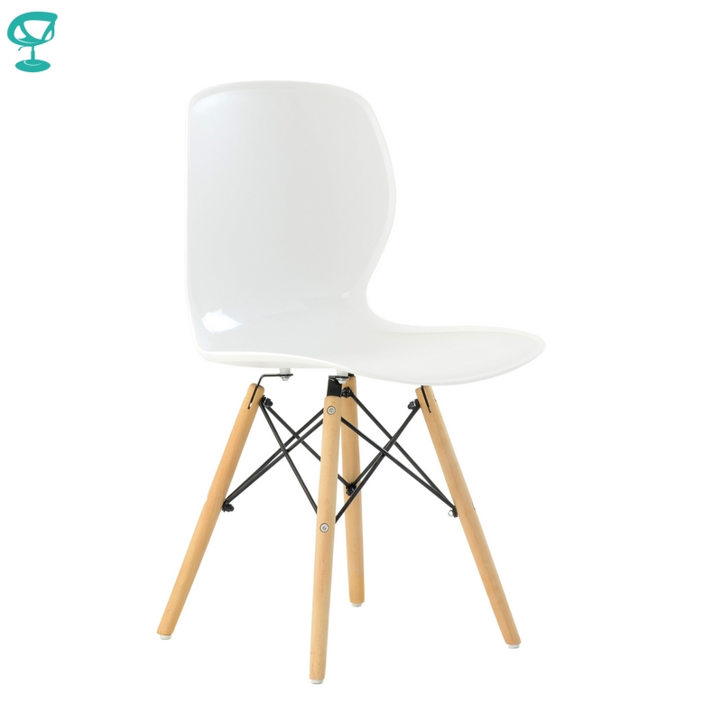 N120White Barneo N-120 Plastic Wood Kitchen Breakfast Interior Stool Bar Chair Kitchen Furniture White Free Shipping In Russia