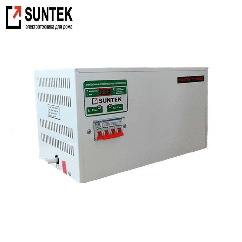 Voltage stabilizer thyristor SUNTEK TT 10000 NN VA undervoltage AC Stabilizer Power stab Stabilizer with thyristor amplifier цена и фото