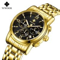 Relogio Masculion Brand Men Top Luxury Brand Military Sport Watch Men's Quartz Clock Male Full Steel Casual Business gold watch