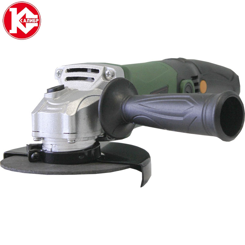 Kalibr MSHU-125/955E Tool Electric Angle Grinder Power Tools cutting Machine Electric Tool for Grinding of Metal Woodworking kalibr mshu 125 1055 angle grinder grinding machine metal polisher angular power tool metal and wood cutting sanding polishing