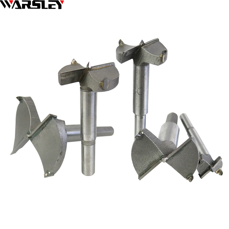 15-35mm Forstner Auger Drill Bit Set Woodworking Hinge Hole Saw Window Wooden Cutting Rotary Hand Tool Accessories Wood Drilling new 50mm concrete cement wall hole saw set with drill bit 200mm rod wrench for power tool
