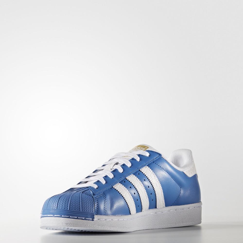 najlepiej kochany niska cena szeroki zasięg US $111.72  Blue sneakers S75881 Adidas SUPERSTAR MAN-in Tennis Shoes from  Sports & Entertainment on AliExpress