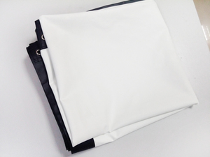 Image 4 - Vendite della fabbrica 100 pollici di schermo 4:3 Del Proiettore HD Schermo Portatile Piegato Anteriore tessuto schermo di proiezione con occhielli con Telaio