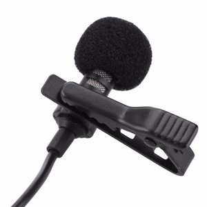 Image 4 - Portable Clip on Lapel Lavalier Microphone 3.5mm Jack Mikrofon Mini Wired Mic Condenser Microfono For iPhone Samsung Smartphone