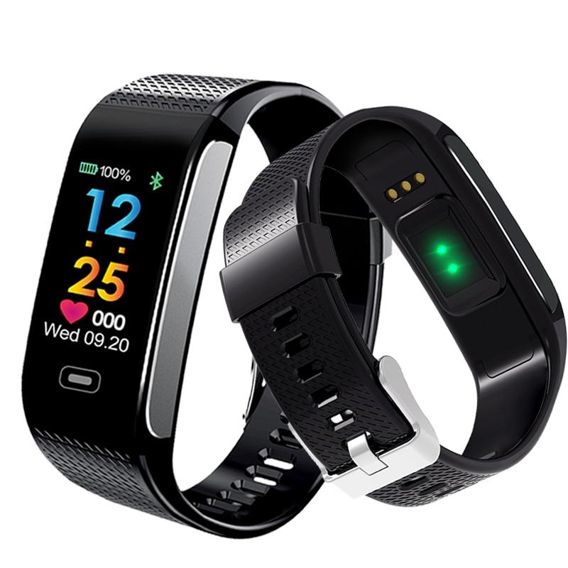 Ataliqi CK18S Smart Wristbands Wrist Watch Blood Pressure Heart Rate Monitor Fitness Tracker Bracelet Activity Tracker SmartBand