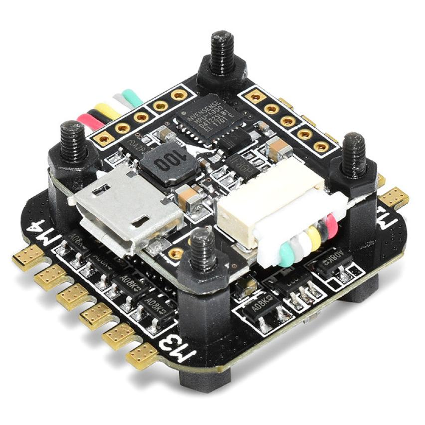 F3 Flytower Flight control Integrated OSD 4 in 1 BLHELI-S 6A ESC Support DSHOT IUNEED TOY Store high quality flytower f3 flight controller 25 200 400mw switchable fpv transmitter osd dshot 30a 4 in 1 esc pdb