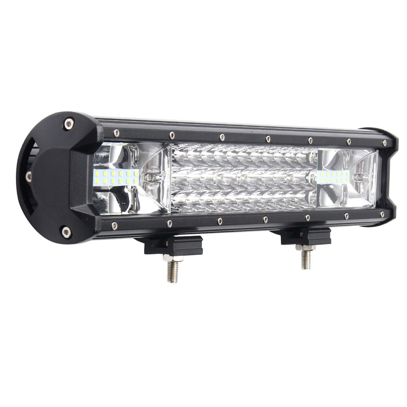 Tri Row LED Car Lights IP68 108W 7D LED Work Light Bar Spotlight Flood Lamp Combo Driving Fog Offroad For SUV ATV Truck spotlight flood lamp combo tri row 7d led work light bar driving fog offroad led car lights ip68 108w for suv atv truck