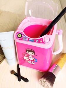 ISHOWTIENDA Mini Children Toy Washing Machine Makeup