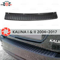 Plate cover rear bumper for Lada Kalina 1 & 2 2004~2017 guard protection plate car styling decoration accessories molding