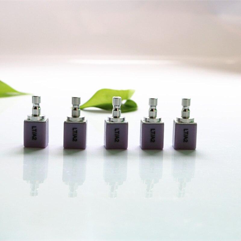5 Pieces / lot C14 18*13*15 Dental Glass Ceramics Lithium Disilicate block LT HT for aesthetic restoration