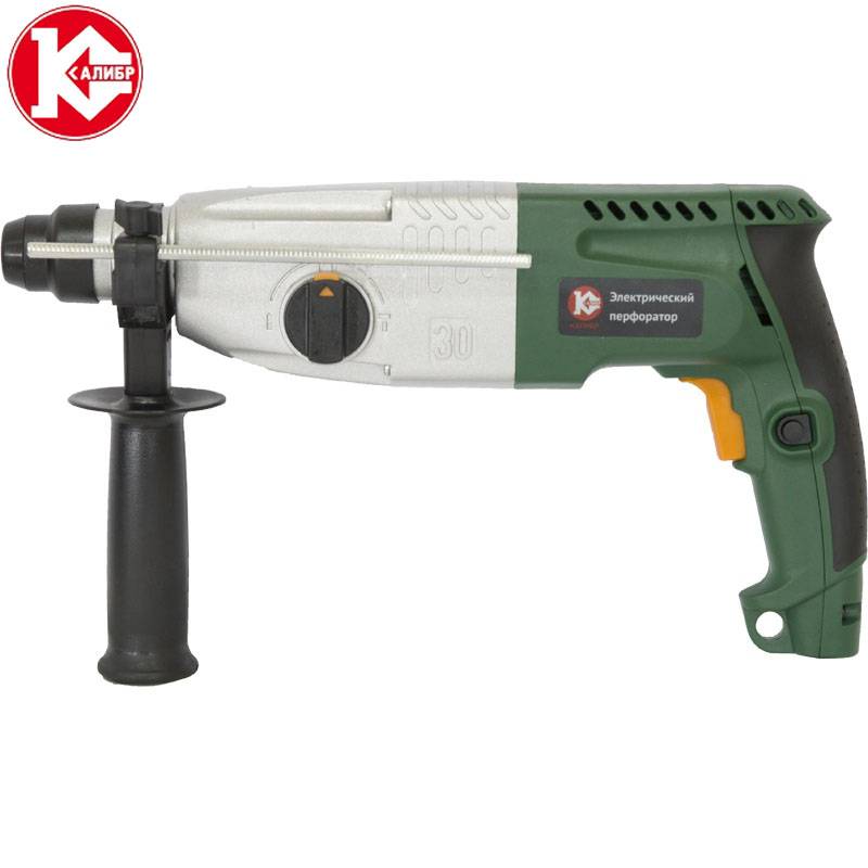 Kalibr EP-800/30MR Electric Hammer Drill Power Tool Rotary kalibr ep 1100 30m ac electric rotary hammer with accessories impact drill power drill electric drill