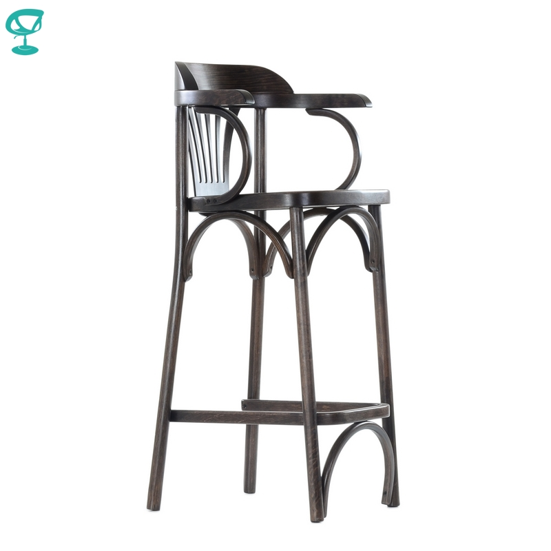 2113 Barneo Viennese Wooden Chair Bar Chair Dinner Interior Stool Chair Kitchen Furniture Wenge Free Shipping In Russia