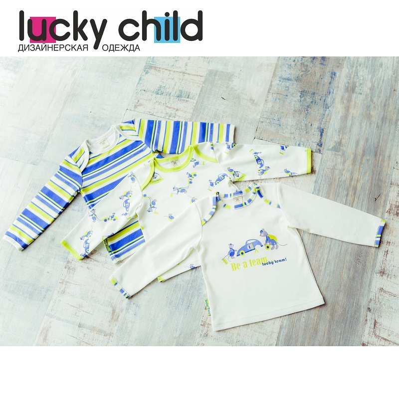 Hoodies & Sweatshirt Lucky Child for boys 30-116/3 Kids Children clothes Jersey Blouse [available with 10 11] vest jersey for boys