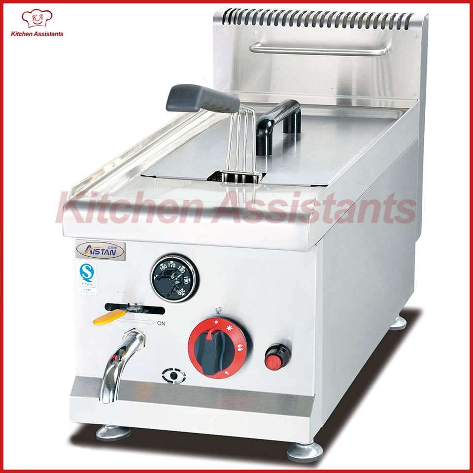 GF71A commercial counter top stainless steel potato big volume lpg gas chicken fryer machine with basket uncanny avengers volume 1 counter evolutionary