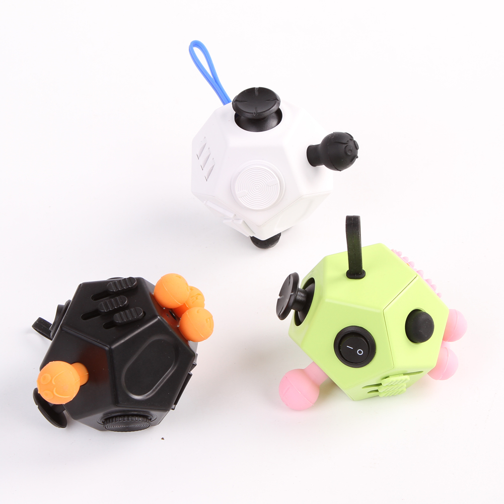 In Stock! NEW Fidget Cube Toys For Girl Boys Gift The First Batch Of The Sale Best Gift Anti Stress Cube