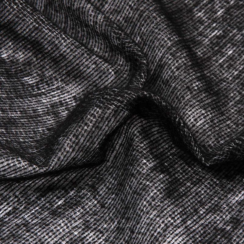 D1VP65 65gsm тканая плавкая прокладочная ткань, 5 метров/рулон железа на Ткань для шитья, пэчворка прокладочная односторонняя клейкая лента 150 см