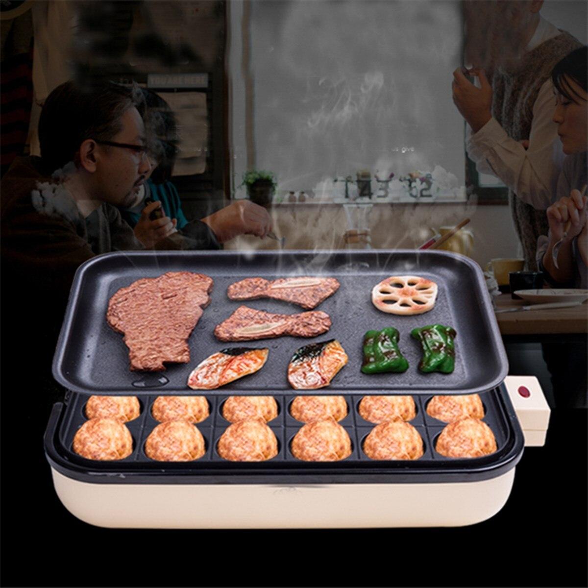 Aliexpress Com Buy 24 Holes Takoyaki Grill Pan Plate