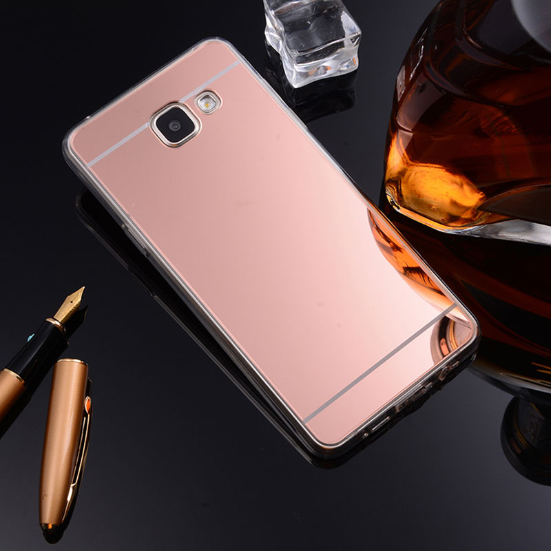 Mirror TPU Cases For Samsung Galaxy A3 A5 A7 J3 J5 J7 J1   S8 Plus S6 S7 Edge Grand Prime J4  Case Slim