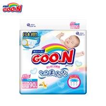Подгузники GOON для Мальчиков и Девочек до 5 кг (90 шт.) NB