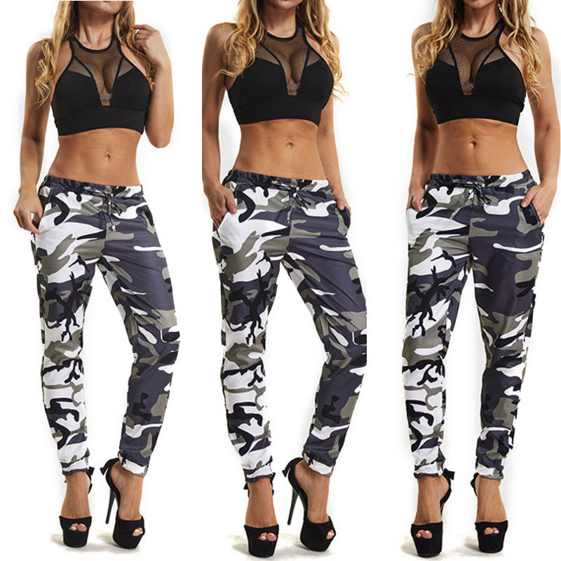 Summer Camouflage Pants Camo Cargo Trousers Pants Casual Pants Military Army Combat Camouflage Jeans Pencil Pants Pink Red Gray (17)