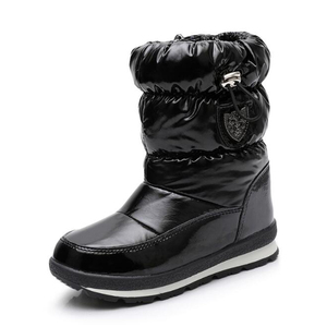Image 3 - Children Boots For Girls Boys fashion snow boots waterproof sport boot keep warm Children shoes Non slip Leisure Flat boot mm191