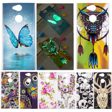 SuliCase Animal Case For Sony Xperia XA2 Soft Silicon TPU Funda Phone Bags Cover