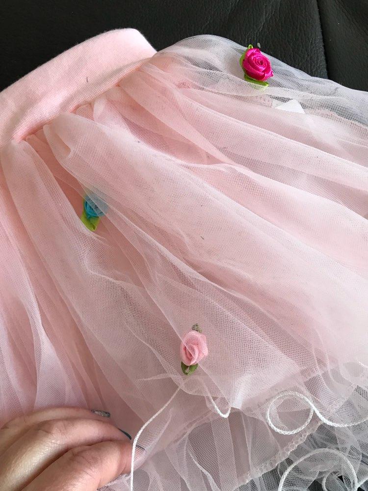 Crianças bebê Meninas Saia Tutu Weeding Natal Ball Vestido Da Princesa Do Partido Da Flor Lace Crianças Mini Saia Roupas de Ano Novo Bonito