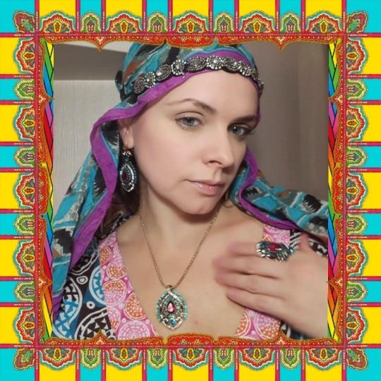 3Pcs Turkish Vintage Antique Jewelry Set - Js2*