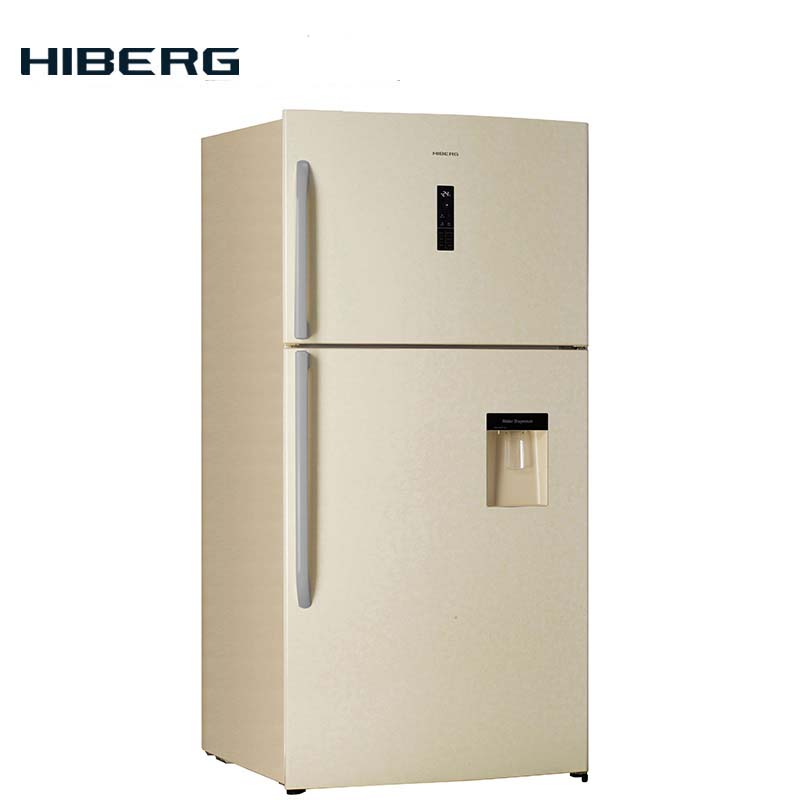 Refrigerator with no frost system HIBERG RFT 72D NFY цена