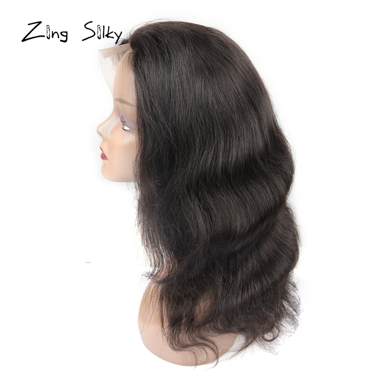 Short Human Hair Wigs Brazilian Hair Straight Lace Front Human Hair Wigs For Women Natural Color Honey Hair Vendors Zing Silky